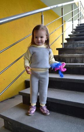 """Детский костюм"""" Активная осень"""" ручной работы на заказ"""