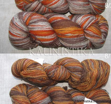 Серо-оранжевый 8/1 и 8/2 Кауни Grey-orange ручной работы на заказ
