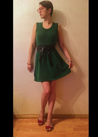 """Платье """"Весне дорогу"""" ручной работы на заказ"""