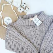 Вязаный свитер Рубан ручной работы в Москве
