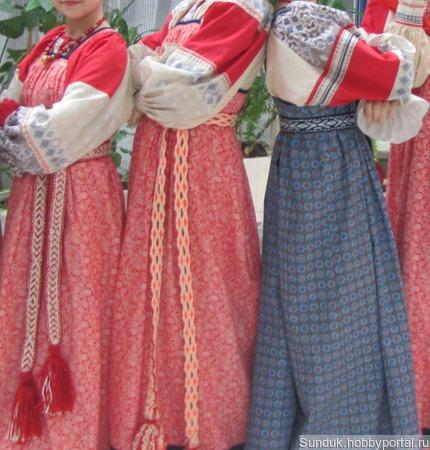 Русский народный костюм ручной работы на заказ