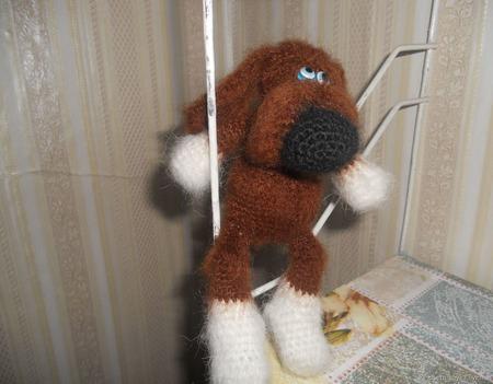 Пёс ручной работы на заказ