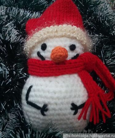 Снеговичок ручной работы на заказ