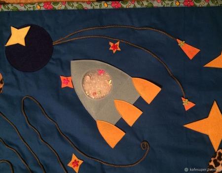 Развивающий массажный коврик для малышей ручной работы на заказ