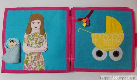 Развивающая книжка для детей от 1 года до 5 лет ручной работы на заказ