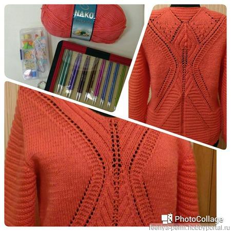 ZARAзительный пуловер ручной работы на заказ