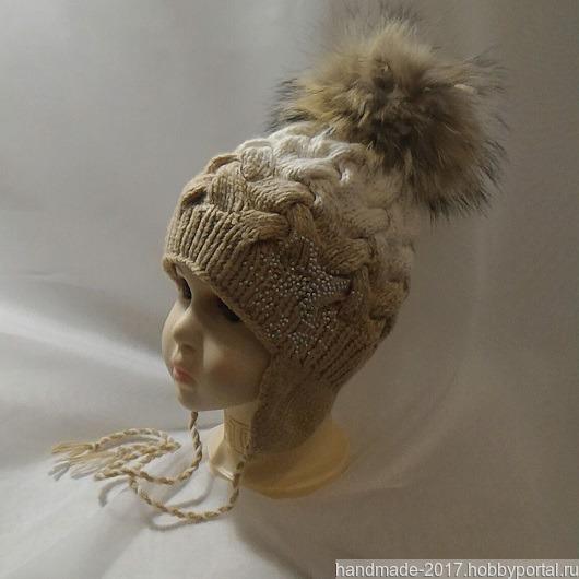 шапка вязаная с градиентом купить в интернет магазине Hobbyportal
