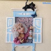 "Кукла-светильник ""Мой милый котик"""