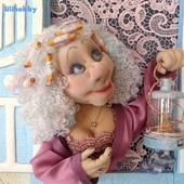 "3D панно ночник кукла ""Киса, пора спать!"""