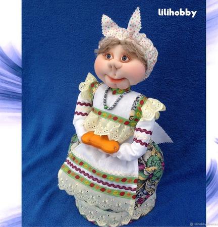 Кукла Баба на чайник грелка ручной работы на заказ
