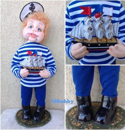 Кукла Моряк ручной работы на заказ