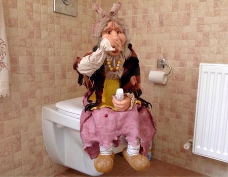 Баба Яга кукла интерьерная ручной работы на заказ