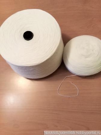 Пряжа ангорка рассказовская с добавлением новозеландской шерсти ручной работы на заказ