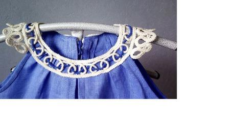 Платье льняное ручной работы на заказ