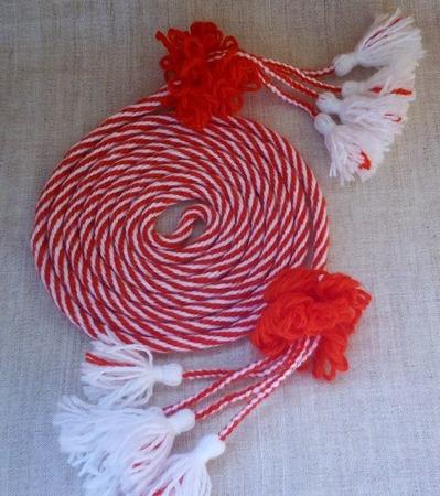 Пояс-шнур ручной работы на заказ