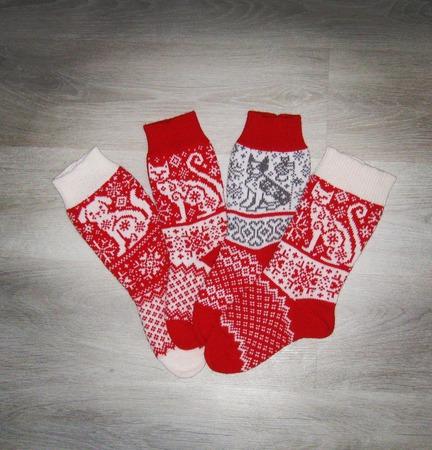 Носки для всей семьи ручной работы на заказ