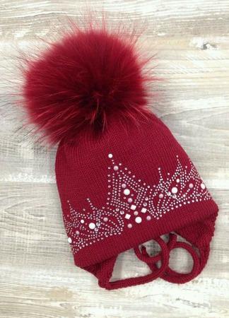 Зимняя шапочка! ручной работы на заказ