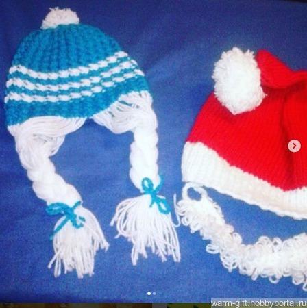 Веселые шапки ручной работы на заказ