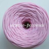 Трикотажная пряжа Виктория Цвет: Нежно-розовый