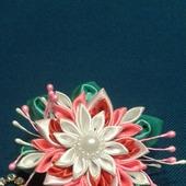 Цветочек на резиночке