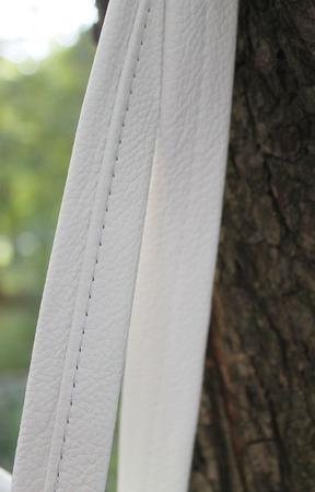 Сумка женская белая натуральная кожа ручной работы на заказ