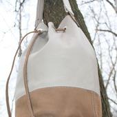 Сумка торба, натуральная кожа