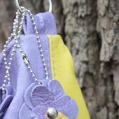 Летняя сумка из натуральной кожи.