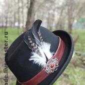 Шляпы с декором