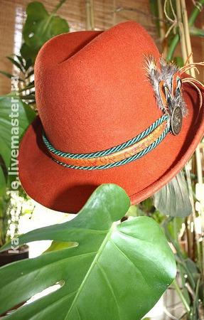 Шляпы с декором ручной работы на заказ