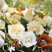 Карамельная свадьба, букет из конфет