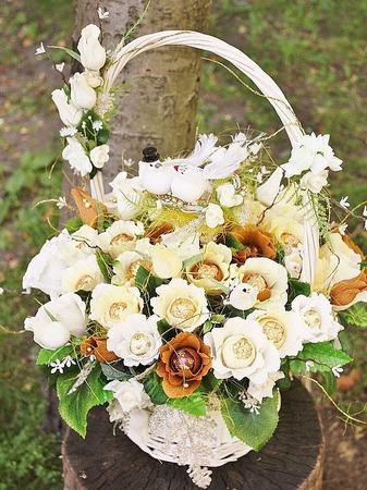 Карамельная свадьба, букет из конфет ручной работы на заказ