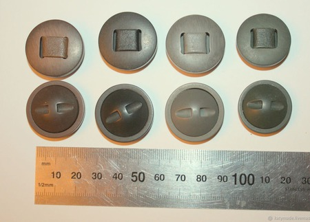 Пуговицы для верхней одежды ручной работы на заказ