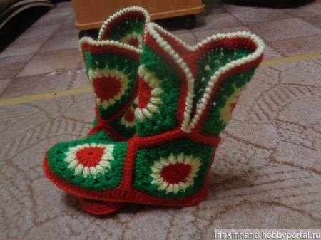 Обувь для дома ручной работы на заказ