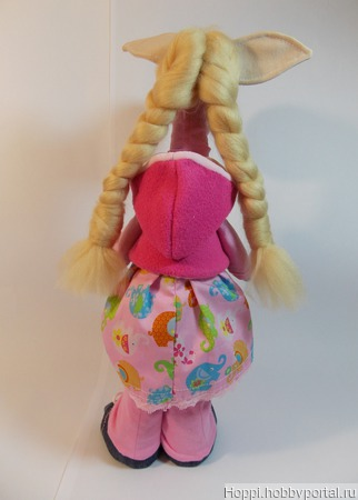 Текстильная лошадка ручной работы на заказ
