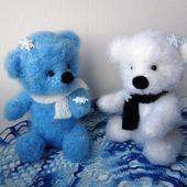 Снежные медвежата (парочка)