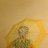 Зонт вязанный