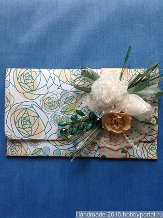 Конверты-открытки ручной работы на заказ
