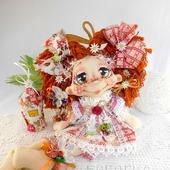 Текстильная кукла Домовушка Хозяюшка . Интерьерная кукла.