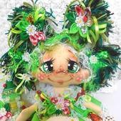 """Домовушка Желанница """"На Счастье""""2.Текстильная интерьерная кукла"""