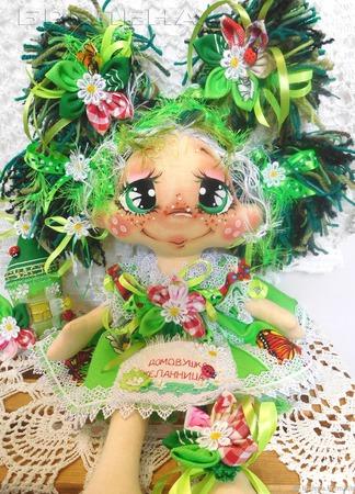 """Домовушка Желанница """"На Счастье""""2.Текстильная интерьерная кукла ручной работы на заказ"""