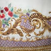 Барокко. Вышивка для скатерти, декоративных интерьерных салфеток, портьер.