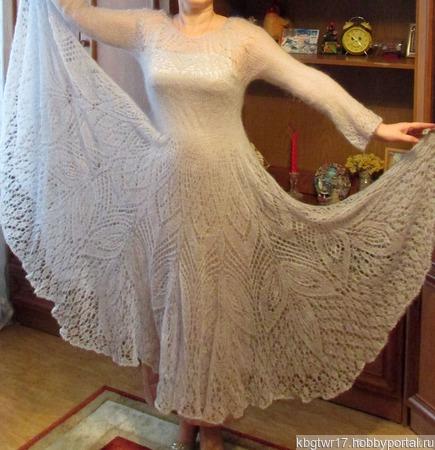 Воздушное платье ручной работы на заказ