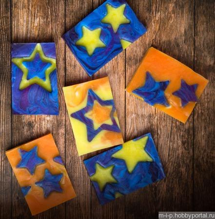 Звездное мыло ручной работы на заказ
