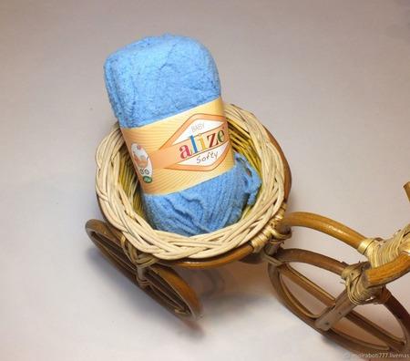 "Пряжа ""Softy Baby Alize"" (Софти Бэби) ручной работы на заказ"