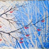 """Картина """"Оттенки снега"""""""