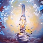 """Картина """"Старая лампа"""""""