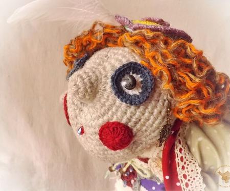 Сова - кукла интерьерная - хранительница леса ручной работы на заказ