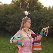 Лесная царевна Весна- карнавальный костюм, наряд для фотосессии