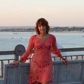 Вязаное пляжное платье Кружевные фантазии - русский стиль
