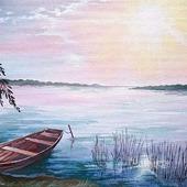 """Картина """"Лодка"""""""